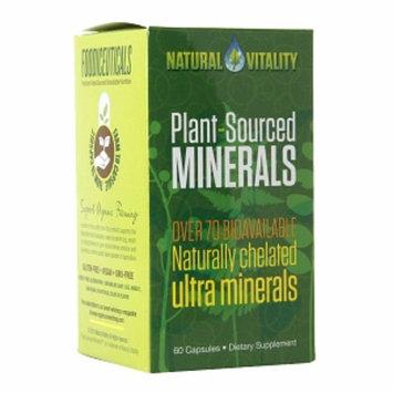 Natural Vitality Plant-Sourced Minerals Caps, 60 caps