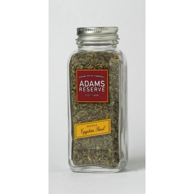 Adams Extracts Egyptian Basil, Whole, 0.70-Ounce Glass Jar (Pack of 6)