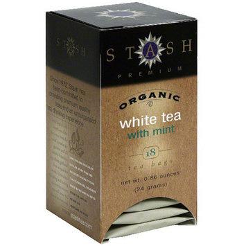 Stash Premium Organic White Tea Bags