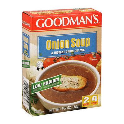 Goodman's Low Sodium Onion Soup & Dip Mix