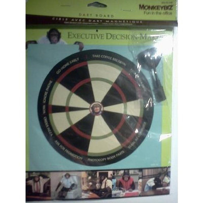 Walgreens Monkeybiz Executive Decision Maker Dartboard
