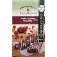 Archer Farms Pomogranate Rasberry Real Fruit Bars drizzled with Yogurt coatin...