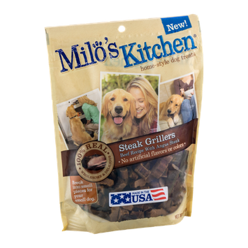 Milo's Kitchen Home-Style Dog Treats Steak Grillers