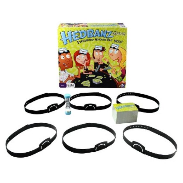 Spin Master Toys Spin Master Hedbanz for Adults Game - Spin Master