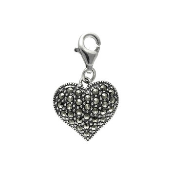 Mac's Bold Heart Shape Charm