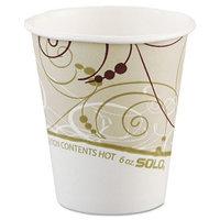 Solo Paper Hot Cups, 6 oz.