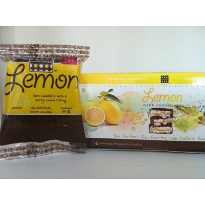 Palm Beach Foods Chocorice Dark Chocolate Lemon 30 pack