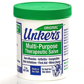 Unker's Medicated Salve, 7 oz
