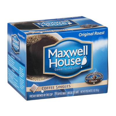 Maxwell House Coffee Singles Original Medium Roast - 19 CT
