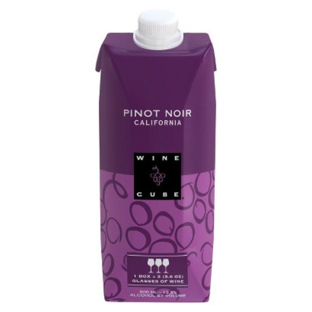 Wine Cube Pinot Noir California Wine