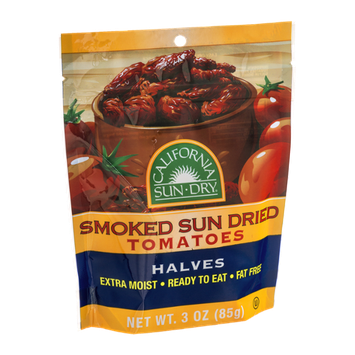 California Sun Dry Smoked Sun Dried Tomatoes Halves