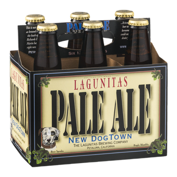 Lagunitas Pale Ale New Dog Town - 6 PK