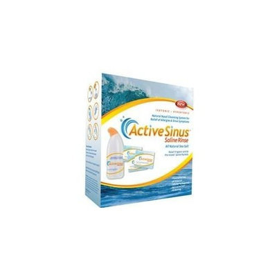Respitouch ActiveSinus Nasal Saline Rinse - Irrigator + 60 Saline Packets - SS400