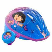 Schwinn Toddler Dora Microshell Helmet With bell - Purple