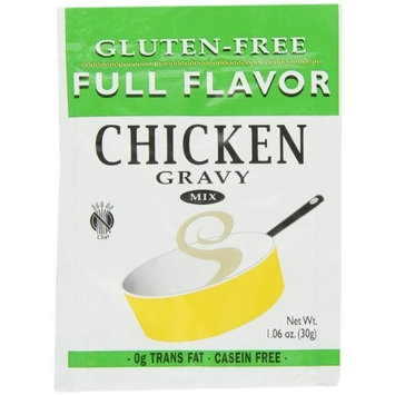 Full Flavor Foods Gravy Mix, Chicken, Gluten Free, 1.06-Ounce (Pack of 6)