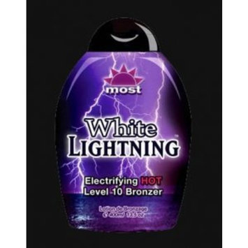 Most Products White Lightning Electrifying Hot Level 10 Bronzer 13.5 Oz