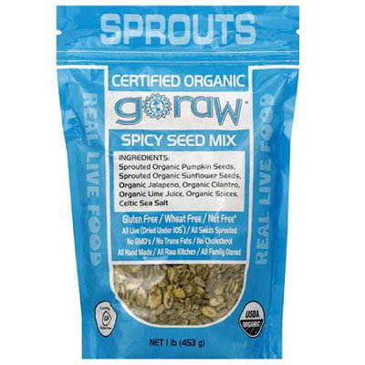 Go Raw Spicy Seed Mix