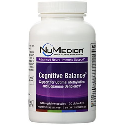 NuMedica Cognitive Balance 120 Vegetable Capsules