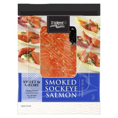 Trident Hot Smoked Sockeye Sweet/Savory Salmon 4 oz