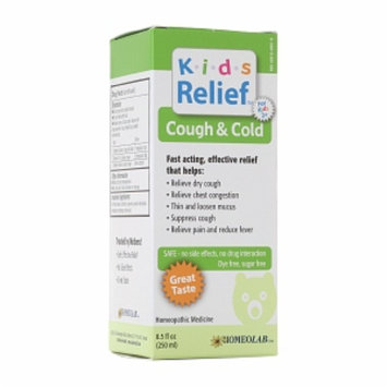 Homeolab USA Kids Relief Cough & Cold