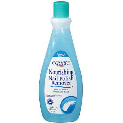Equate Nourishing Nail Polish Remover, 10 fl oz