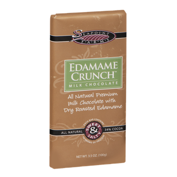 Seapoint Farms Edamame Crunch Milk Chocolate