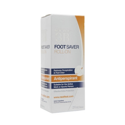 Neat 3B Foot Saver Anti-Perspirant Roll-On