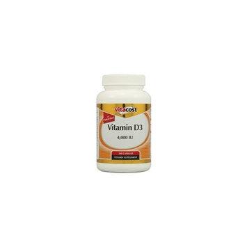 Vitacost Brand Vitacost Vitamin D3 (as Cholecalciferol) -- 4000 IU - 300 Capsules