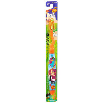 Reach Children's Youth Toothbrush Phineas and Ferb