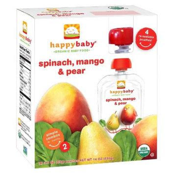 Nurture, Inc. Happy Tot 4pk Spinach, Mango & Pear 4.22 oz 4 ct