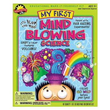 Scientific Explorer Mind Blowing Science Kit Ages 4 and up, 1 ea
