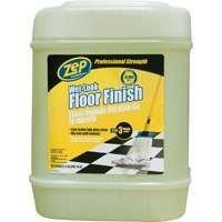 ZEP Floor Polish 5 gal. Wet-Look Floor Polish Clear ZUWLFF5G