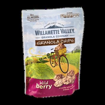 Willamette Valley Granola Chips Wild Berry