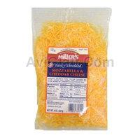 Miller's Fancy Shredded Mozzarella & Cheddar Cheese 8 oz