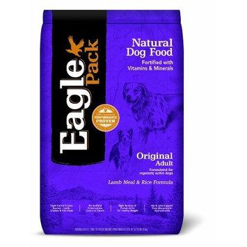 Eagle Pack Natural Pet Food, Original Adult Lamb Meal and Rice Formula for Dogs