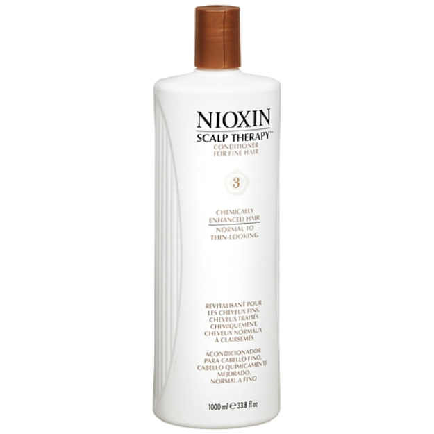 Nioxin Scalp Therapy Conditioner for Fine Hair System 3: Chemically Enhanced Hair