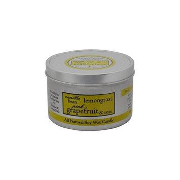 Aroma Paws Vanilla Lemongrass Travel Tin Candle