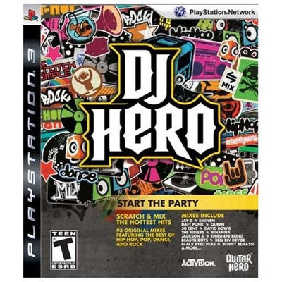 Activision DJ Hero - Entertainment Retail - PlayStation 3