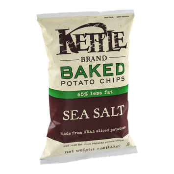 Kettle Brand Baked Potato Chips 65% Less Fat Sea Salt