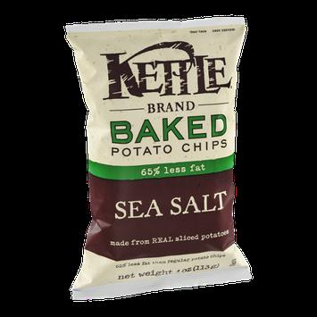 Kettle Brand Baked Potato Chips 65% Less Fat Sea Salt