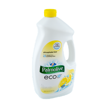 Palmolive Eco Phosphate Free Lemon Splash Gel Dishwasher Detergent