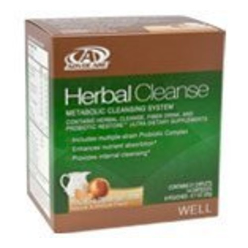 AdvoCare Herbal Cleanse (Peaches and Cream) 21 caplets, 14 capsules, 6 pouches