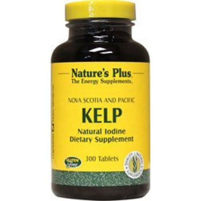 Nature's Plus Kelp -- 300 Tablets