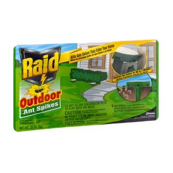 Raid Outdoor Ant Spikes - 6 CT