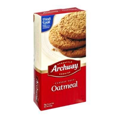 Archway Homestyle Classic Soft Oatmeal Cookies