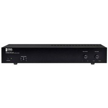 OSD Audio OSD 2-Channel Power Amplifier w/ 500 Watts, Black