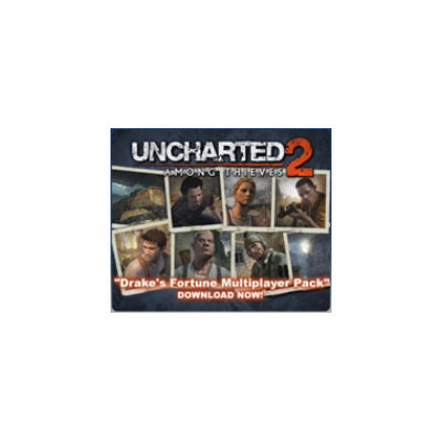 Uncharted 2: Among Thieves Drake's Fortune Multiplayer Map Pack DLC (Playstation 3)