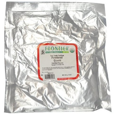 Frontier Natural Foods Frontier Herbs Spices and Seasonings Cloves Powder Organic Fair Trade Certified -- 16 oz