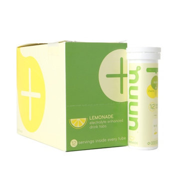 nuun Electrolyte Enhanced Drink Tabs, Tubes Lemonade