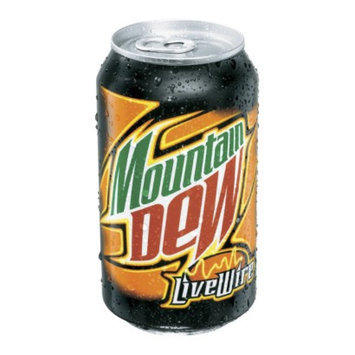 Mountain Dew Live Wire Soda 12 oz, 12 pk